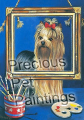 Yorkshire Terrier Pretty Picture-LF
