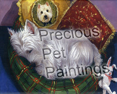 West Highland Terrier Precious Toto-NC