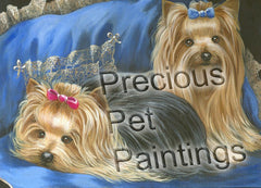 Yorkshire Terrier Satin & Lace-CPL