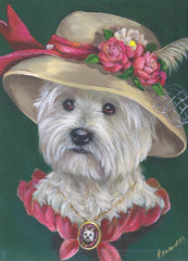 West Highland Terrier Lady Evelyn-MP