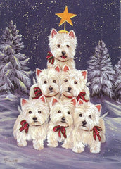 West Highland Terrier Westie Family Tree-PZ