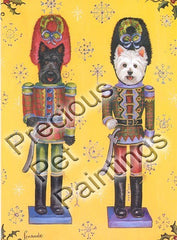 Scottie & Westie Nutcrackers-GC