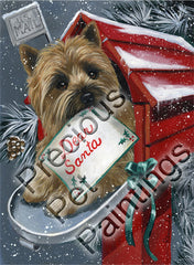 Cairn Terrier Letter for Santa-MP