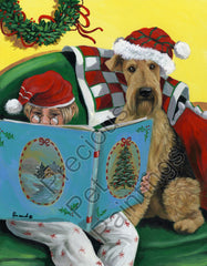 Airedale Terrier Storybook-PZ