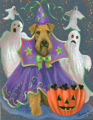Airedale Terrier Boo Hoo-LF