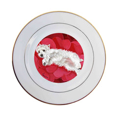 West Highland Terrier Queen of Hearts -CP