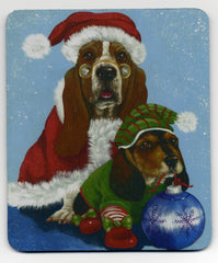 Basset Hound Proud Santa-MP
