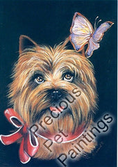 Cairn Terrier Butterfly-MP