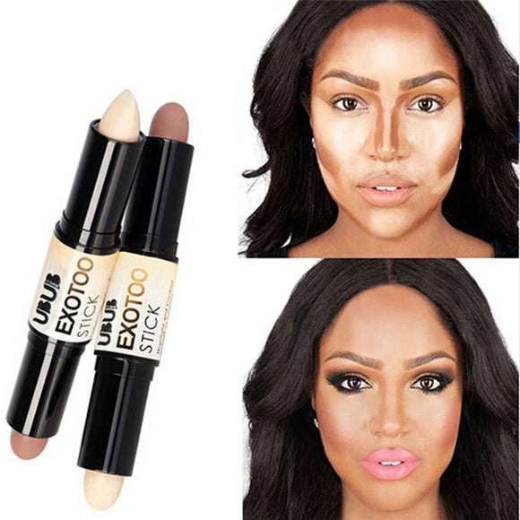 Creamy Highlighter Bronzer double-ended contour stick