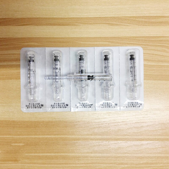 100pcs hyaluronic pen Syringe Ampoule head for hyaluron gun