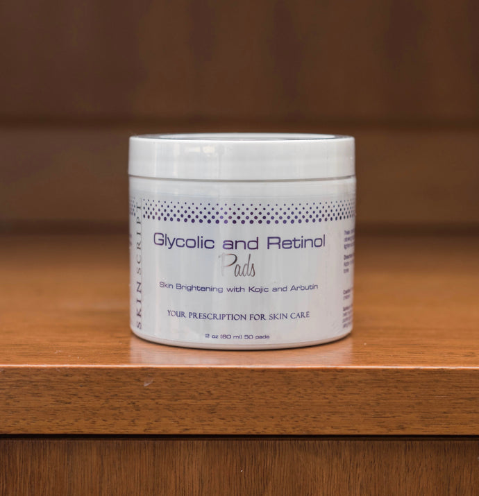 Skinscript Glycolic and Retinol Pads