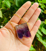 Load image into Gallery viewer, Abundance Raw Amethyst Necklace