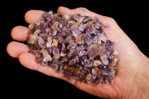 Amethyst Crystal Chips 1/2 Pound Bag