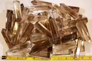 "Smoky Quartz Points 2 3/4"" Root Chakra"