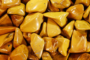 "Yellow Jasper 1 1/2"" Polished Solar Plexus Chakra"