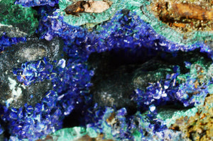 "Azurite Malachite 4"" 11-14 Oz ULTRA HIGH Quality Third Eye Chakra - Kidz Rocks"