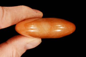 "Orange Aventurine Palm Stone 2 1/2"" Sacral Chakra - Kidz Rocks"
