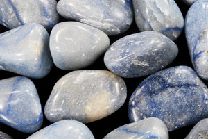 "Blue Quartz 2"" 3-5 Oz Throat Chakra - Kidz Rocks"