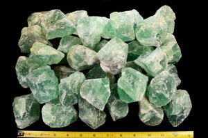 "Green Fluorite Crystal 2 1/2"" 6-9 Oz Heart Chakra - Kidz Rocks"