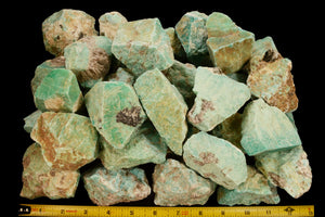 "Amazonite Crystal 2"" to 3"" 6-8 Oz All Chakras - Kidz Rocks"