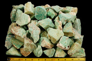 "Amazonite Crystal 1"" to 2"" 2-4 Oz All Chakras - Kidz Rocks"