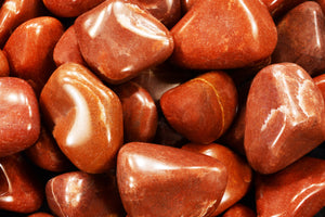 "Red Aventurine 1 1/2"" 2 Oz Root Chakra - Kidz Rocks"