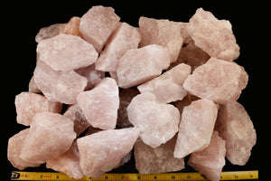 "Rose Quartz Crystal 3""-4"" 8-11 Oz Heart Chakra - Kidz Rocks"