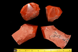 "Red Jasper Polished Top 4"" 12-14 Oz Root Chakra - Kidz Rocks"