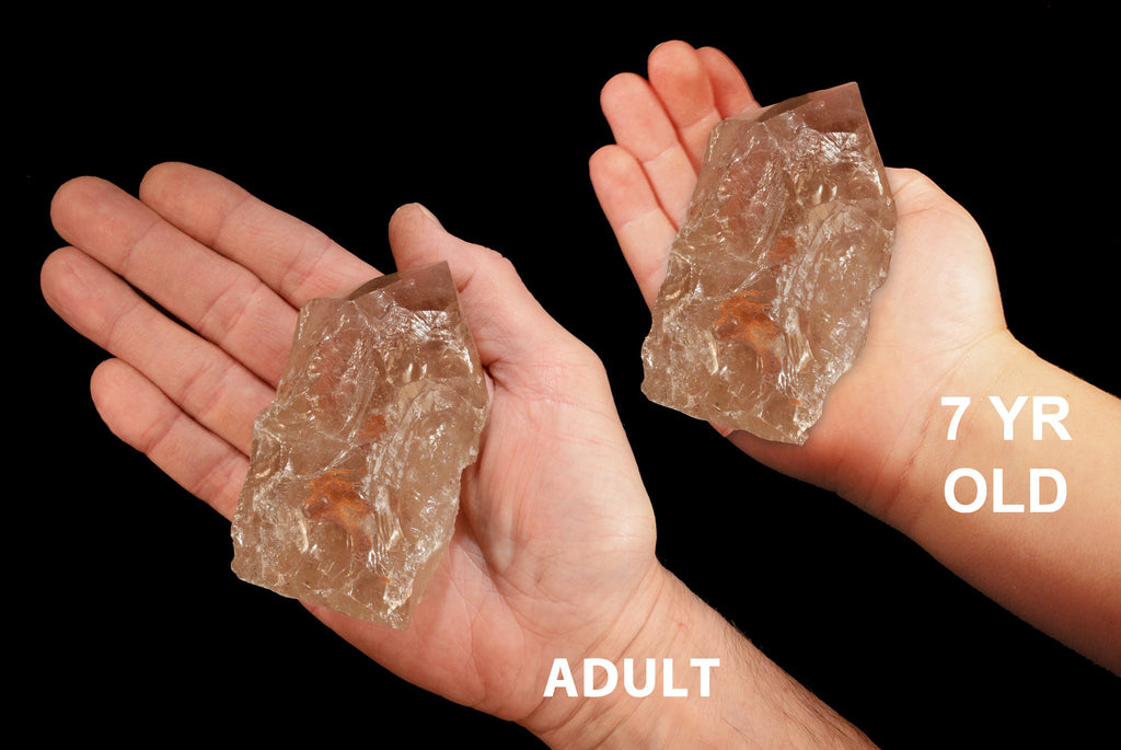 "Smoky Quartz Polished Top 4"" 8-12 Oz Root Chakra - Kidz Rocks"