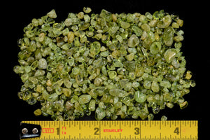 "Peridot Crystals 1/4"" 2 Ounce Bag Heart Chakra - Kidz Rocks"