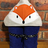 Fox Hooded Towel - Quick Customs