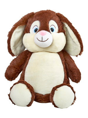 Personalised Plush Bunny Toy - Quick Customs