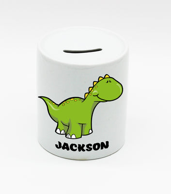 Personalised Ceramic Money Box - Quick Customs