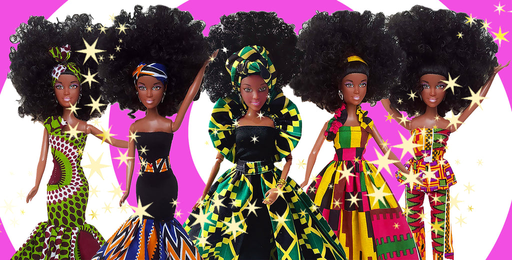 BEAUTIFUL BLACK DOLLS NANA DOLLS