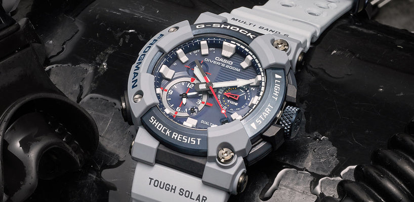 G SHOCK - BRAND NEW Royal Navy Collaboration Frogman Watch Revealed