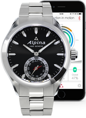 Alpina Horological Smartwatch Motion X Quartz AL-285BS5AQ6B
