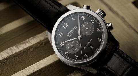 Bremont Watch ALT1-C Black Polished ALT1-C/PB