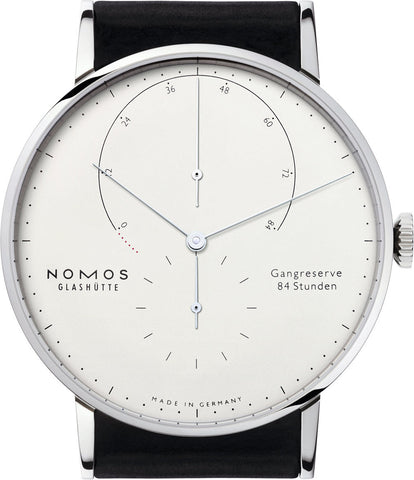 Nomos Glashutte Watch Lambda White Gold 931