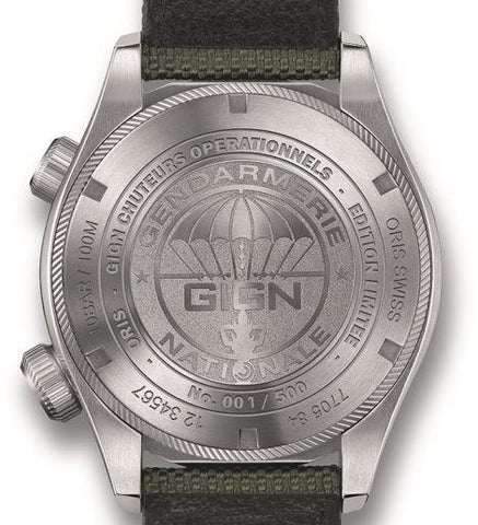 Oris Watch GIGN Limited Edition 01 733 7705 4184-Set 5 23 14FC