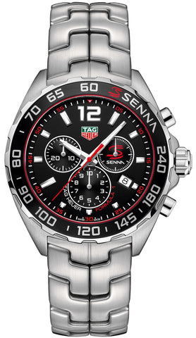 TAG Heuer Watch Formula 1 Senna Chrono Limited Edition Bracelet CAZ1015.BA0883