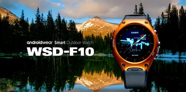 Casio Androidwear Smart Outdoor Watch WSD-F10