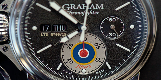Graham Watch Chronofighter Vintage UK Limited Edition