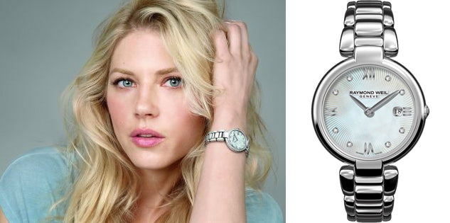 Katheryn Winnick Raymond Weil Shine Collection
