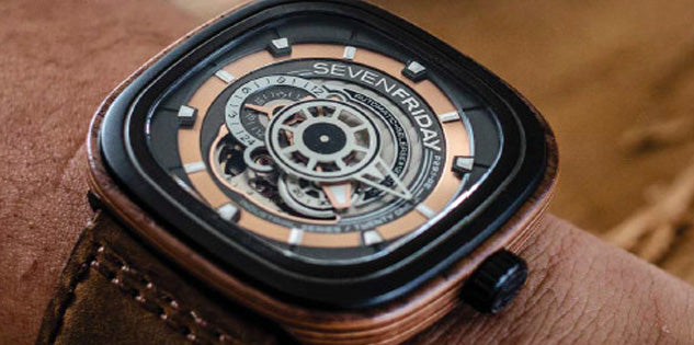 SevenFriday Watch Woody Limited Edition Pre-Order P2B/03-W