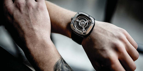 SevenFriday Watch Series Black PVD M1/03