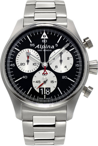 Alpina Watch Startimer Pilot Big Date Chronograph AL-372BS4S6B