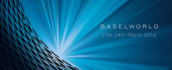 Take a look at the Baselworld entrance 2016