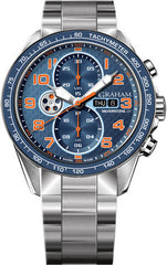 Graham Watch Silverstone RS Racing Orange Blue Bracelet 2STEA.U04A.A26F