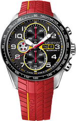 Graham Watch Silverstone Racing Red Yellow 2STEA.B15A RED RUBBER