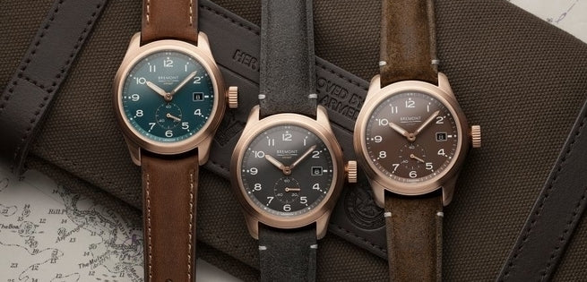 Bremont Announce Trio of Broadsword Bronze Watches